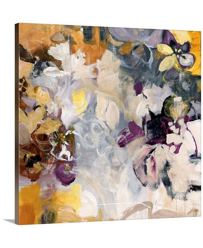 """GreatBigCanvas - 36 in. x 36 in. """"Orchid Pattern"""" by  Jodi Maas Canvas Wall Art"""