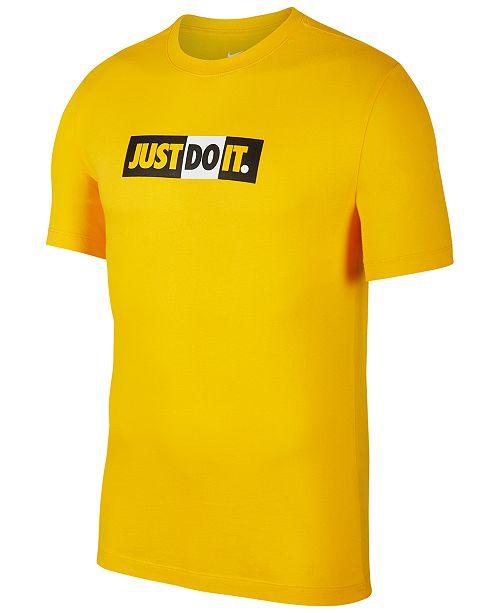 Nike Men's Sportswear Just Do It T-Shirt & Reviews - T-Shirts ...