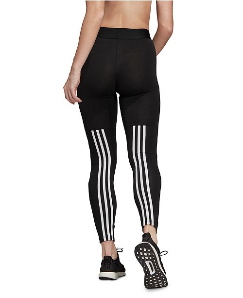 ideología Alarmante Profeta  adidas Women's Must Have 3-Stripe Leggings & Reviews - Women - Macy's