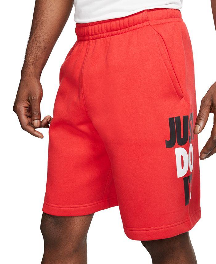Nike - Men's Sportswear Just Do It Fleece Shorts