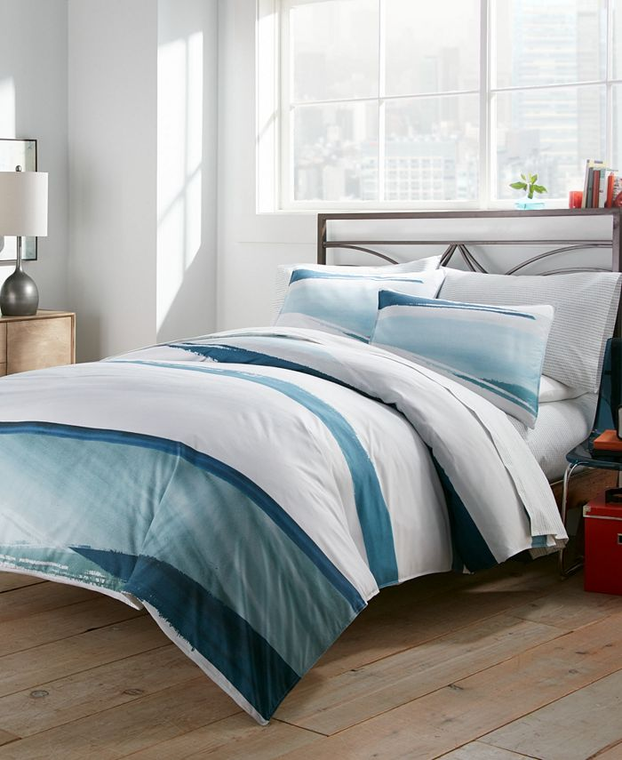 City Scene - Aquarelle Full/Queen Duvet Cover Set
