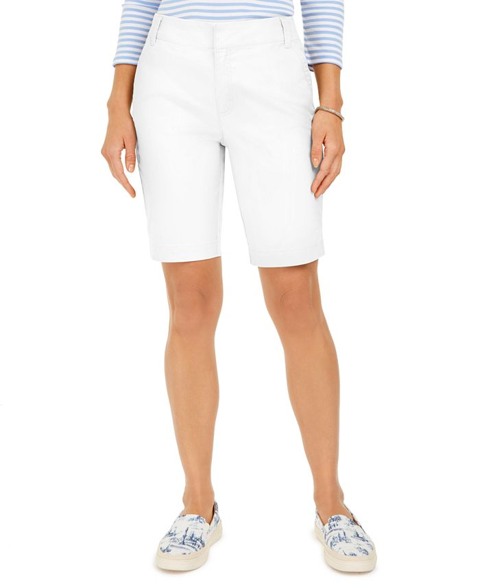 Charter Club - Bermuda Twill Shorts