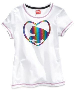 Puma Kids TShirt Girls Graphic Tee