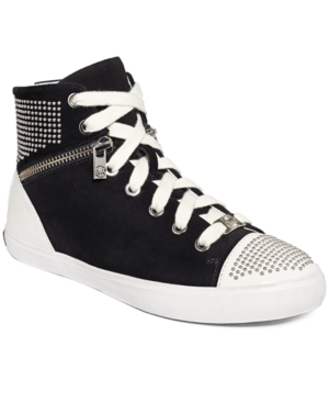 MICHAEL Michael Kors Borum Studded High Top Sneakers Womens Shoes