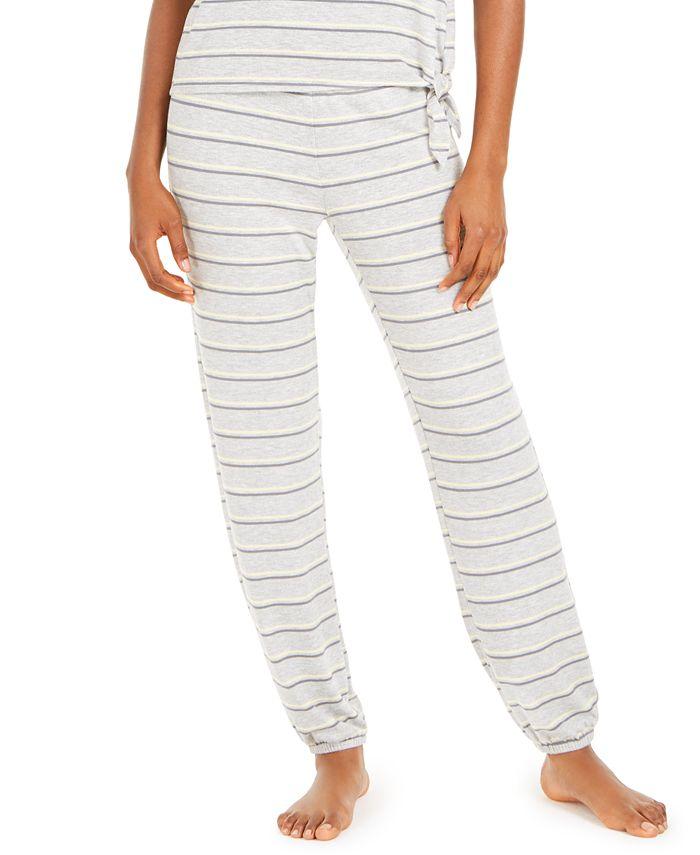 Alfani - Printed Pajama Jogger Pants