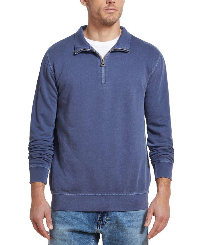 Weatherproof Vintage - Men's Quarter-Zip Knit Sweater