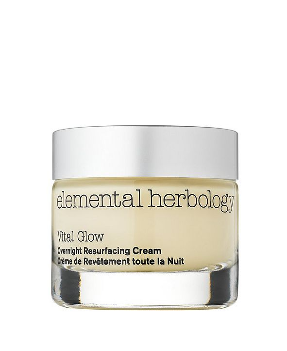 Elemental Herbology Vital Glow Overnight Resurfacing Cream for Face, 1.7 fl oz
