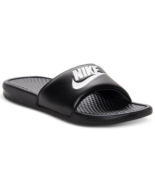 Men's Benassi Just Do It Slide Sandals from Finish Line