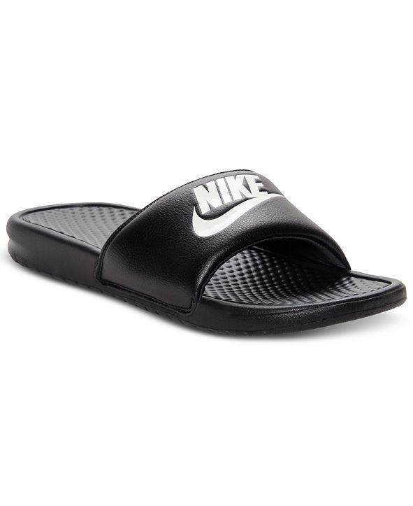 Nike Men's Benassi Just Do It Slide Sandals from Finish Line