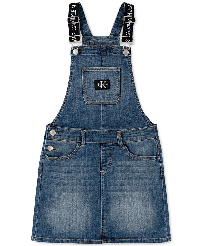Calvin Klein - Big Girls Denim Skirtall