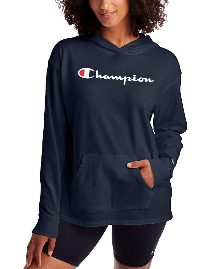 Champion - Cotton Logo Hoodie