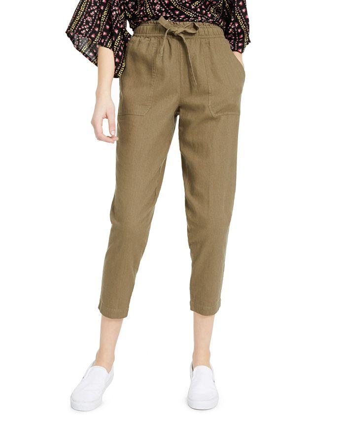 Indigo Rein - Juniors' Cropped Pull-On Pants