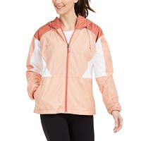 Deals on Columbia Womens Side Hill Colorblocked Hooded Jacket