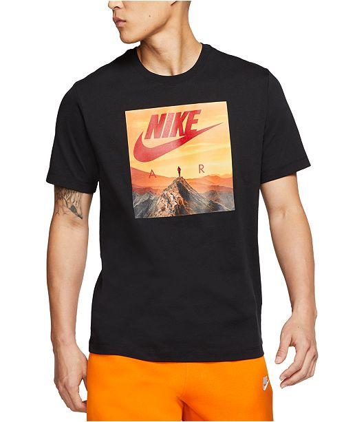 Nike Men's Air Graphic T-Shirt & Reviews - T-Shirts - Men ...