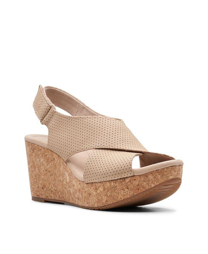 Clarks - Annadel Parker Wedge Sandals