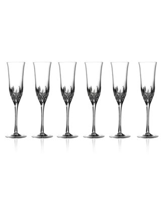 Waterford Stemware, Lismore Essence Flutes, Set of 6