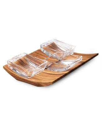 Nambe Butterfly Condiment Bowls