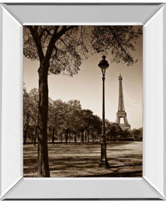 An Afternoon Stroll-Pari by Maihara J. Mirror Framed Print Wall Art, 22