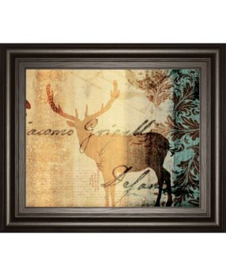 Letter I by F. Leal Framed Print Wall Art - 22
