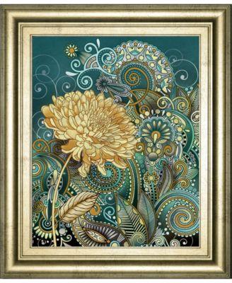 Inspired Blooms 1 by Conrad Knutsen Framed Print Wall Art - 22