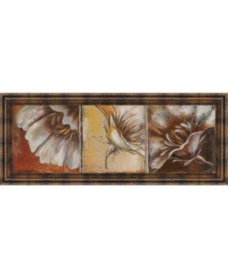 The Three Poppies I by Patricia Pinto Framed Print Wall Art - 18