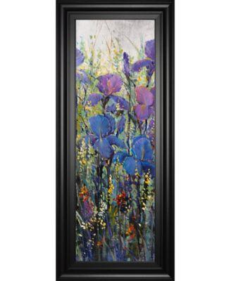Iris Field Il by Tim Otoole Framed Print Wall Art - 18
