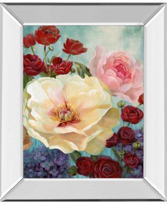 June's Celebration II by Nan Mirror Framed Print Wall Art, 22