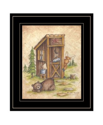 Still Waiting by Mary Ann June, Ready to hang Framed Print, White Frame, 11