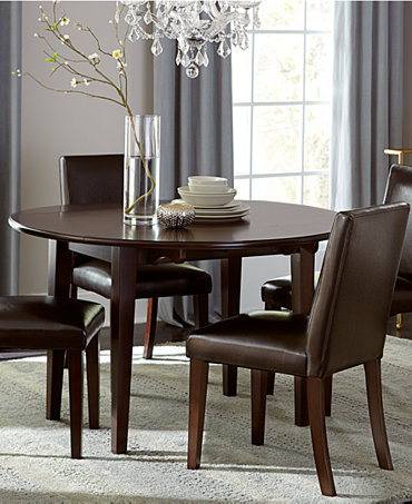 Addison Dining Room Furniture 5 Piece Set Round Dining Table And 4 Chairs