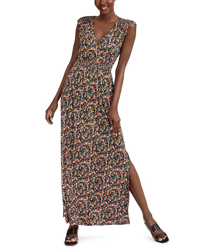 Inc International Concepts Inc Ditsy Floral Print Maxi Dress Created For Macy S Reviews Dresses Women Macy S