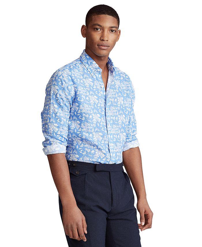 Polo Ralph Lauren - Men's Classic-Fit Tropical Linen Shirt