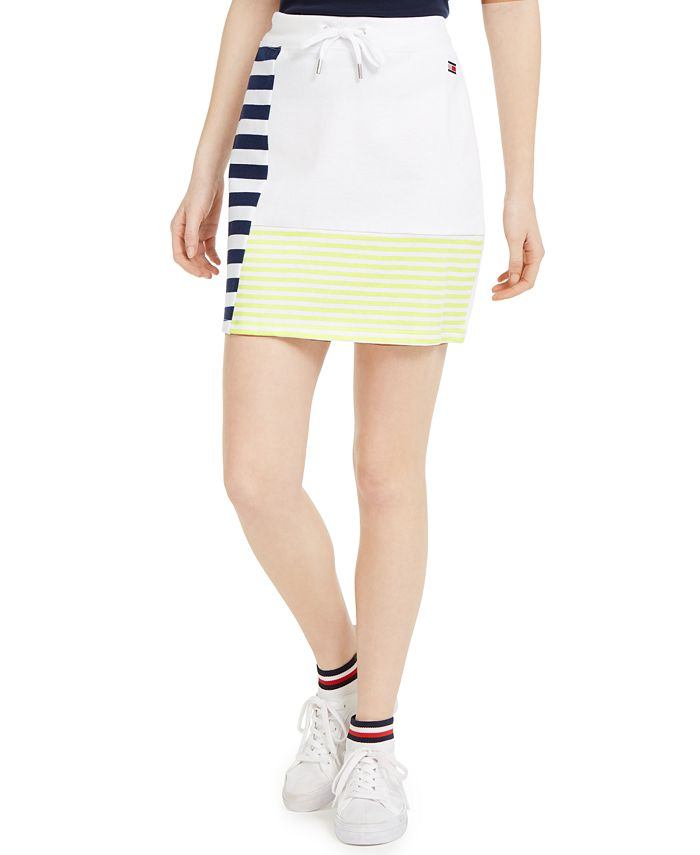 Tommy Hilfiger - Stripe Blocking Skirt