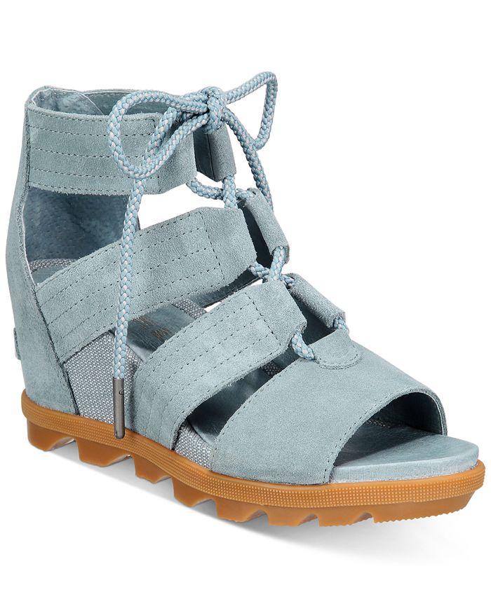 Sorel - Joanie II Lace-Up Wedge Sandals