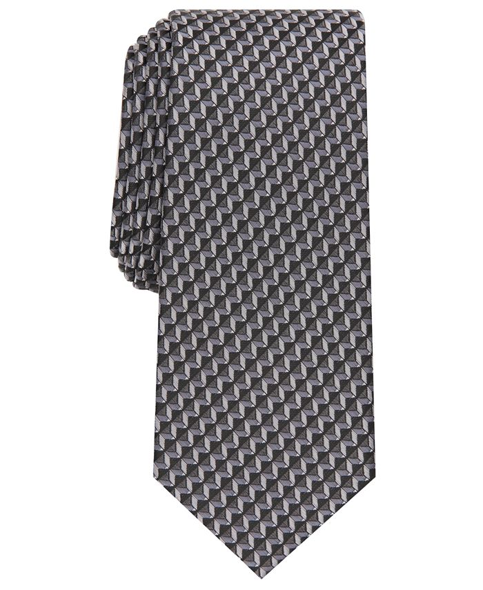 Alfani - Men's Norton Geometric Necktie
