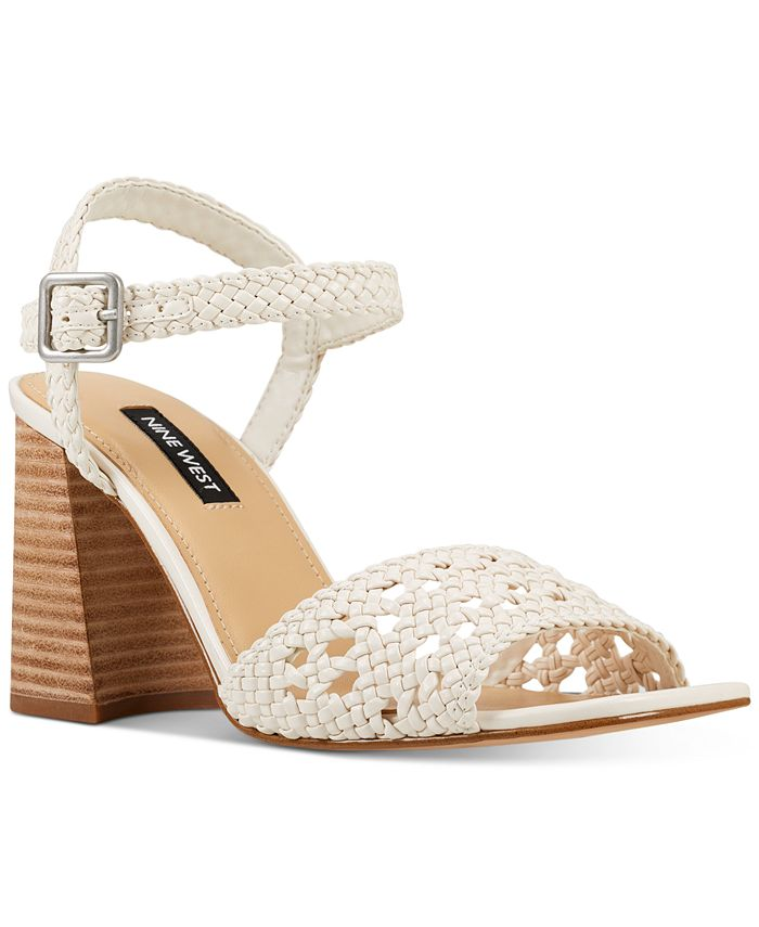 Nine West - Gwenny Woven City Sandals