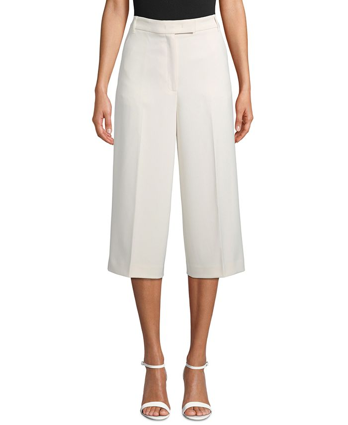 Anne Klein - Crepe Tailored Culottes