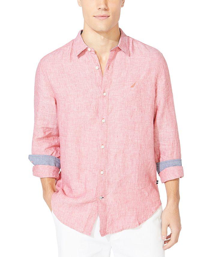 Polo Ralph Lauren - Men's Classic-Fit Solid Linen Shirt