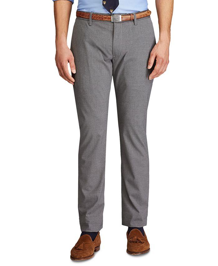 Polo Ralph Lauren - Men's Stretch Straight-Fit Pants
