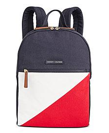Tommy Hilfiger Canvas TH Flag Backpack