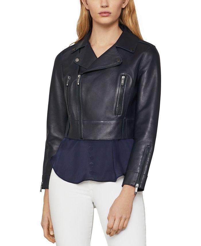 BCBGMAXAZRIA - Autumn Leather Moto Jacket