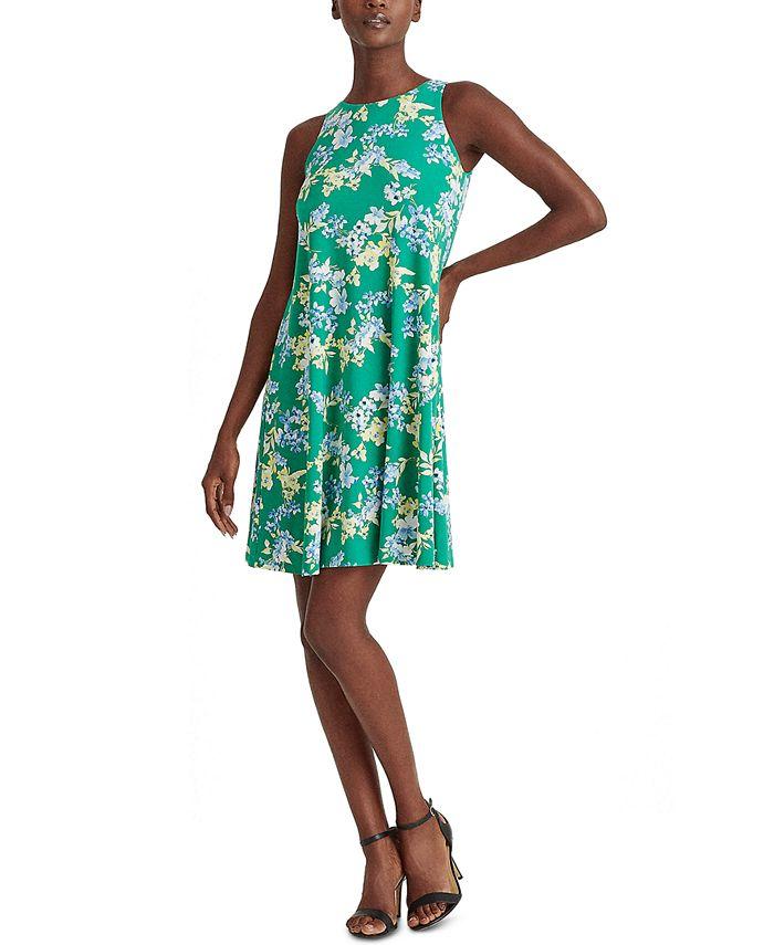 Lauren Ralph Lauren - Floral Jersey Shift Dress