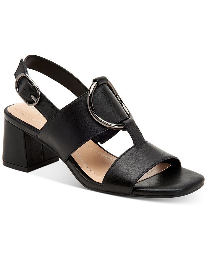 Alfani - Women's Step N' Flex Gwenna Ring-Hardware Dress Sandals