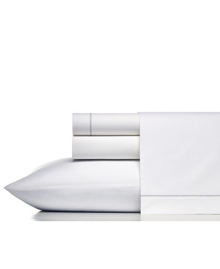 Vera Wang - Solid Cotton Percale King Sheet Set