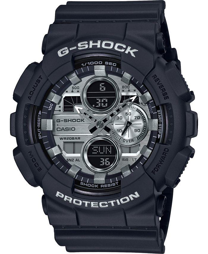 G-Shock - Men's Analog-Digital Black Resin Strap Watch 51.2mm