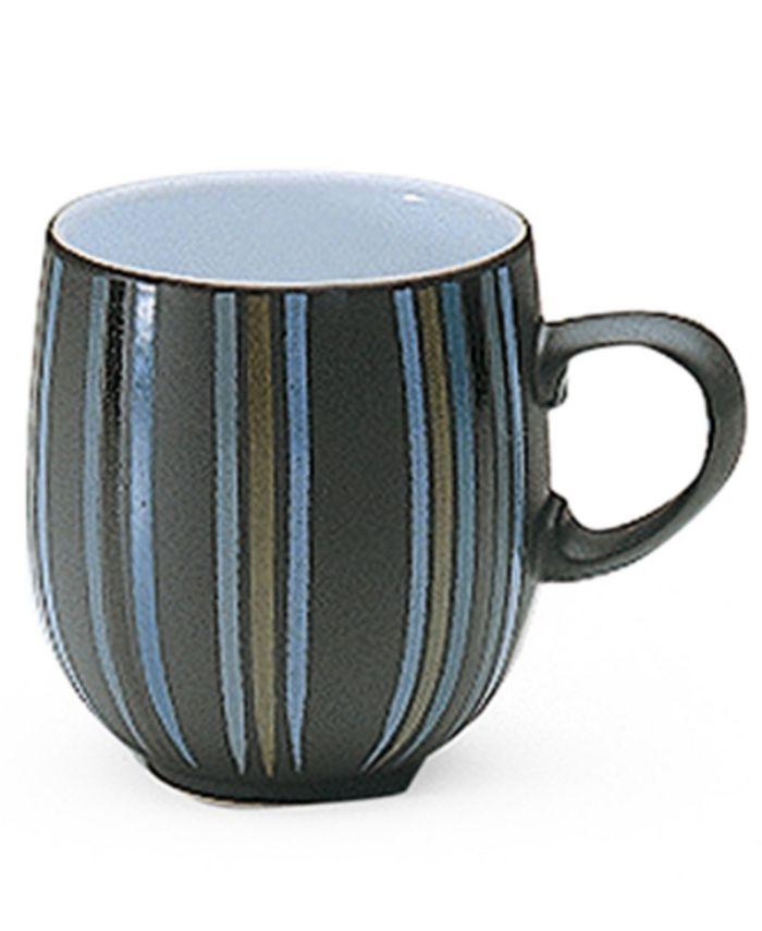 """Denby - """"Jet Stripes"""" Large Mug"""