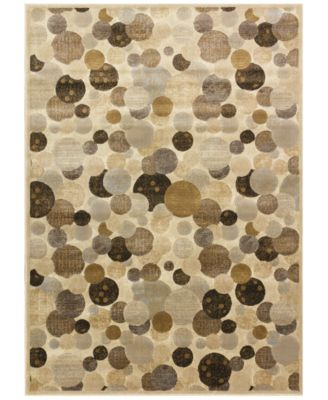"Kenneth Mink Area Rug, Kingston WW1 Beige 5'3"" x 7'7"""