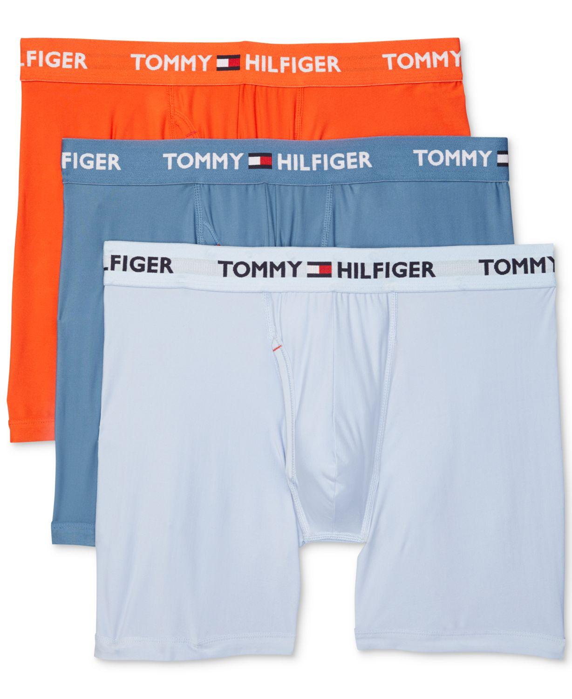 Tommy Hilfiger Men's 3-Pk. Everyday Micro Boxer Briefs & Reviews - Underwear & Socks - Men - Macy's