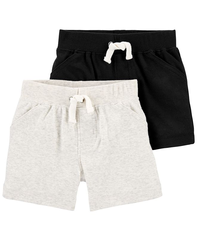 Carter's Baby Boys 2-Pk. Cotton Pull-On Shorts