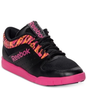 Reebok Womens Shoes Dance UR Lead Mid Casual Sneakers