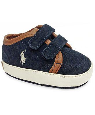 Ralph Lauren Baby Shoes Baby Boys Ethan Low Sneakers